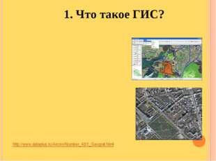 http://www.dataplus.ru/Arcrev/Number_43/1_Geograf.html 1. Что такое ГИС?