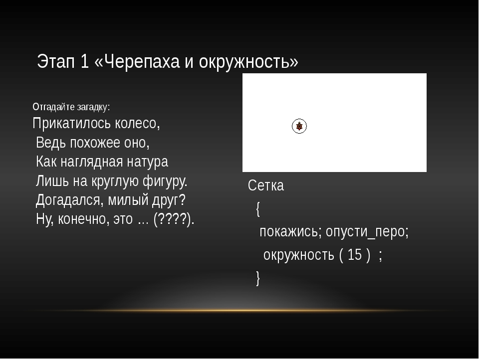 Этап 3, «Случайные цвета» Сетка { целые x, y; в_точку (x , y ); покажись; опу...