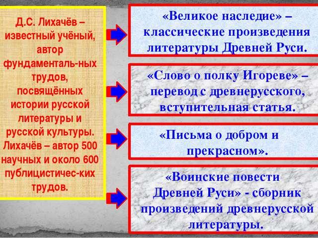 Дмитрий Сергеевич Лихачёв – Человек XX века. Его помнят, его читают, цитирую...