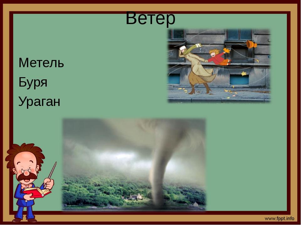 Ветер Метель Буря Ураган