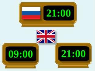 21:00 09:00 21:00