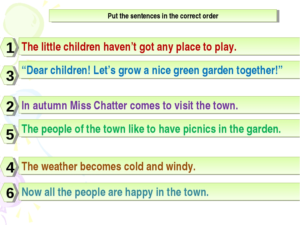 "The little children haven't got any place to play. ""Dear children! Let's grow..."