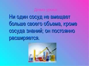 Ни один сосуд не вмещает больше своего объема, кроме сосуда знаний; он постоя