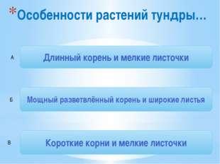 Источники 1. http://5klass.net/datas/okruzhajuschij-mir/Tundra-4-klass/0007-0