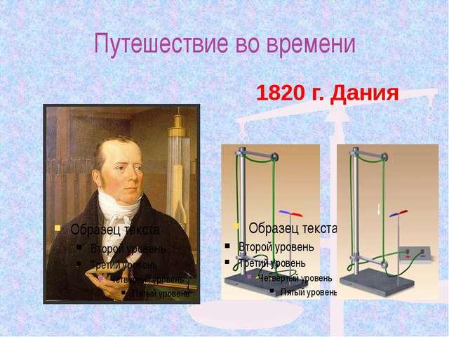 Путешествие во времени Ханс Кристиан Эрстед (1777 – 1851) 1820 г. Дания