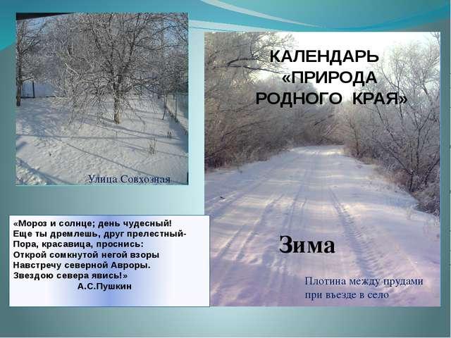 «Мороз и солнце; день чудесный! Еще ты дремлешь, друг прелестный- Пора, краса...