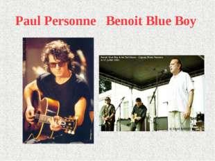 Paul Personne Benoit Blue Boy