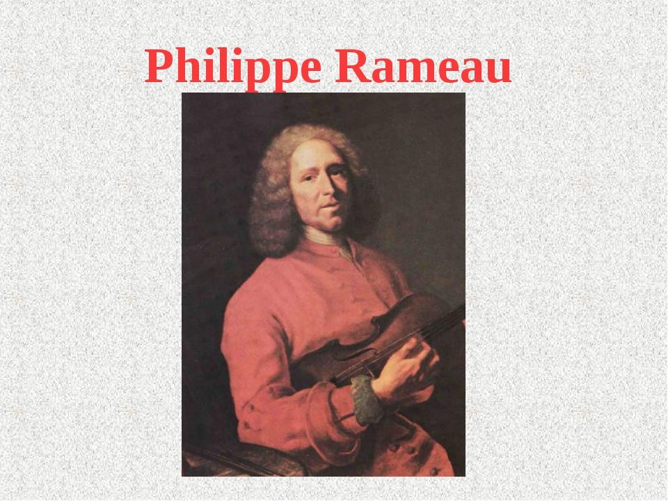 Philippe Rameau