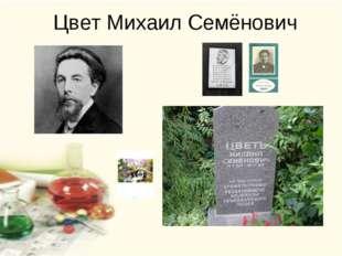 Цвет Михаил Семёнович