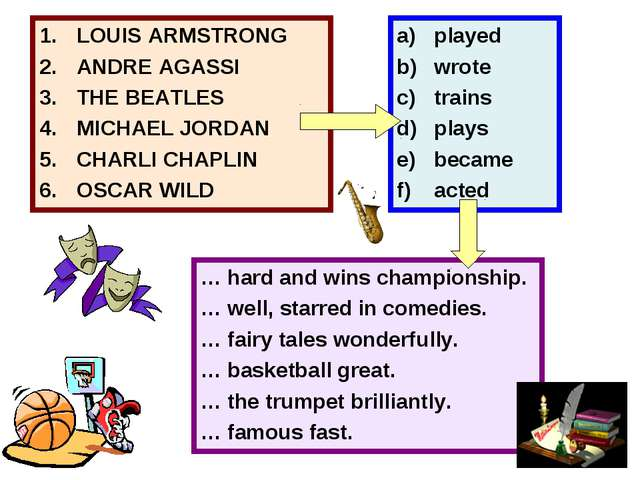 LOUIS ARMSTRONG ANDRE AGASSI THE BEATLES MICHAEL JORDAN CHARLI CHAPLIN OSCAR...