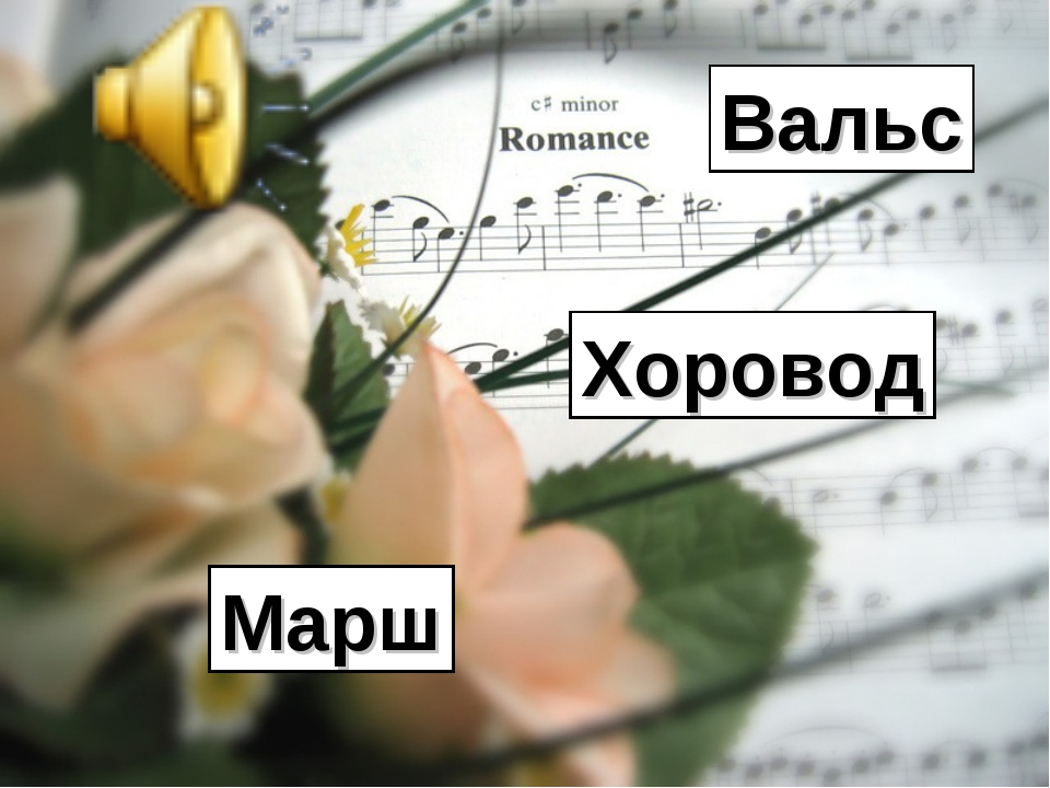 Д. Шостакович «Вальс – шутка» Вальс Хоровод Марш