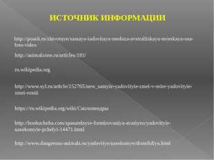 ru.wikipedia.org http://animalzone.ru/articles/181/ http://www.syl.ru/article