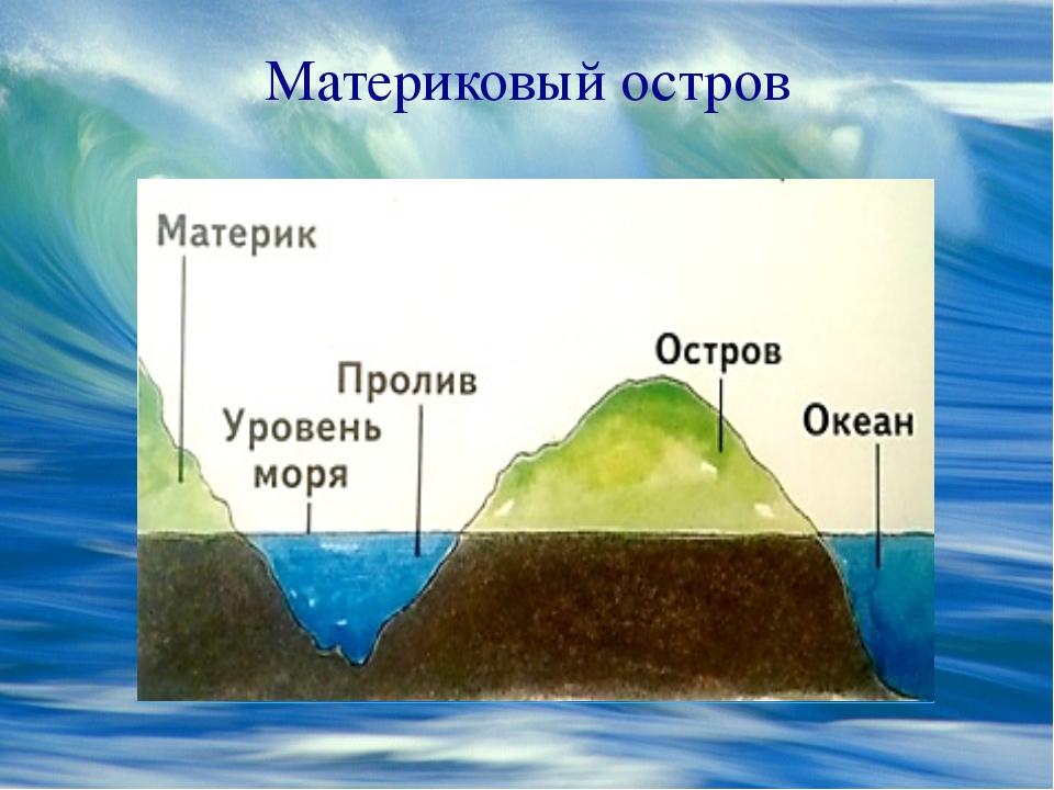 Материковый остров