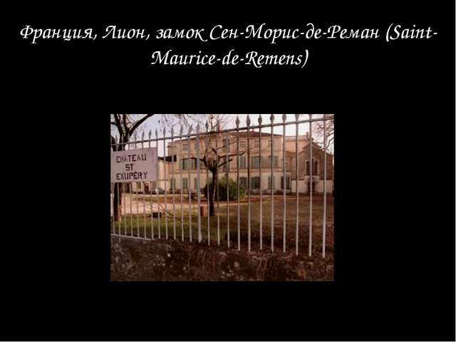 Франция, Лион, замок Сен-Морис-де-Реман (Saint-Maurice-de-Remens)
