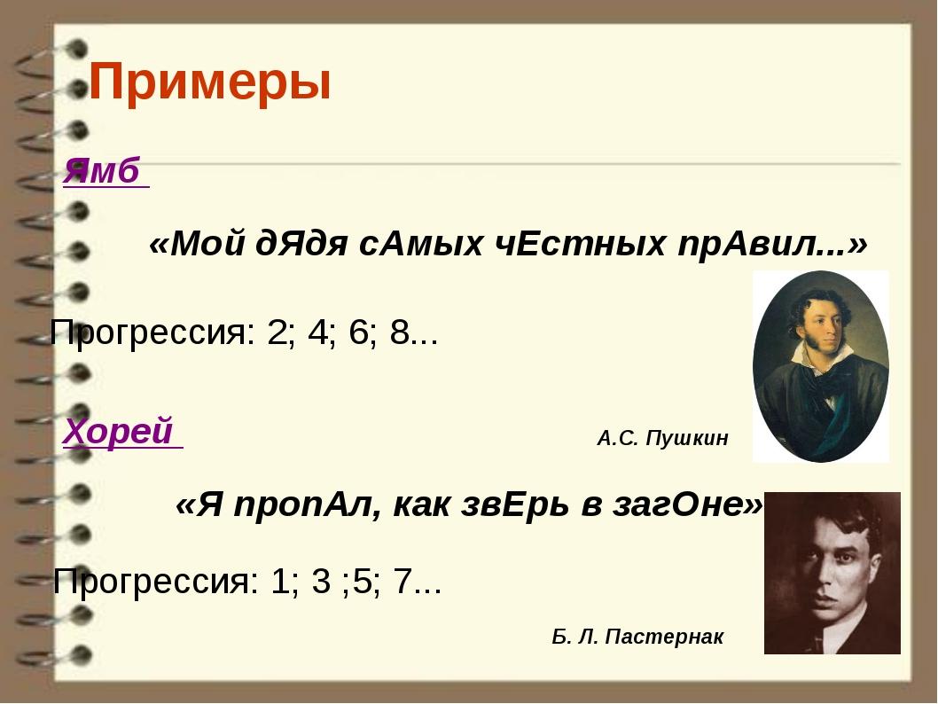 Примеры «Мой дЯдя сАмых чЕстных прАвил...» «Я пропАл, как звЕрь в загОне» Пр...