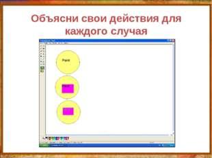 Объясни свои действия для каждого случая http://aida.ucoz.ru