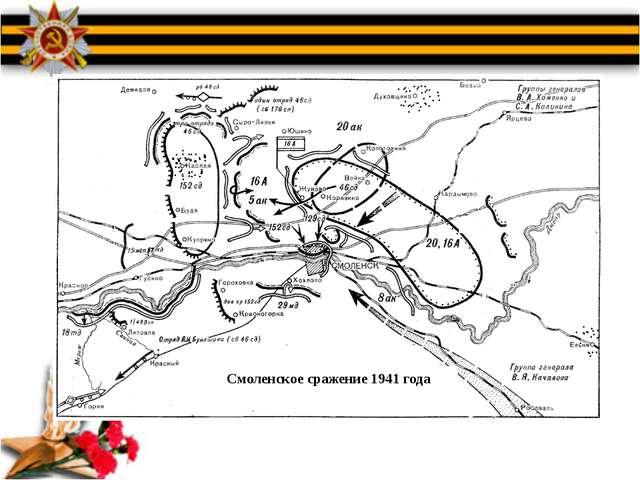 Смоленское сражение 1941 года