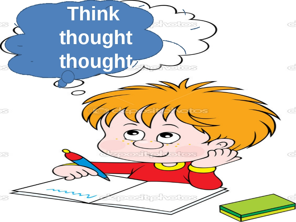 Think thought thought