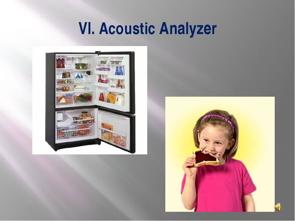 VI. Acoustic Analyzer