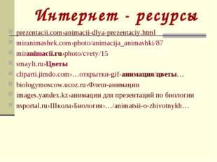 Интернет - ресурсы prezentacii.com›animacii-dlya-prezentaciy.html miranimashe