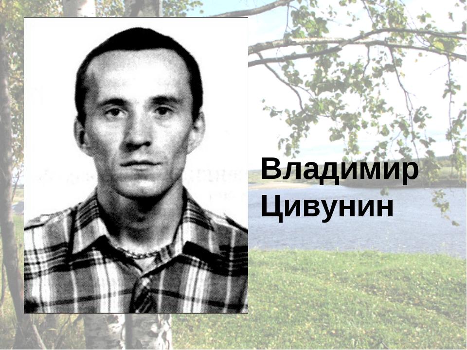 Владимир Цивунин