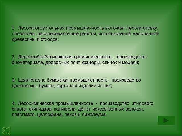 Деревообрабатывающая промышленность - производство пиломатериалов, древесн...