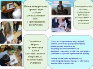 Поиск информации, презентация слайдов (использование ИКТ в преподавании и обу