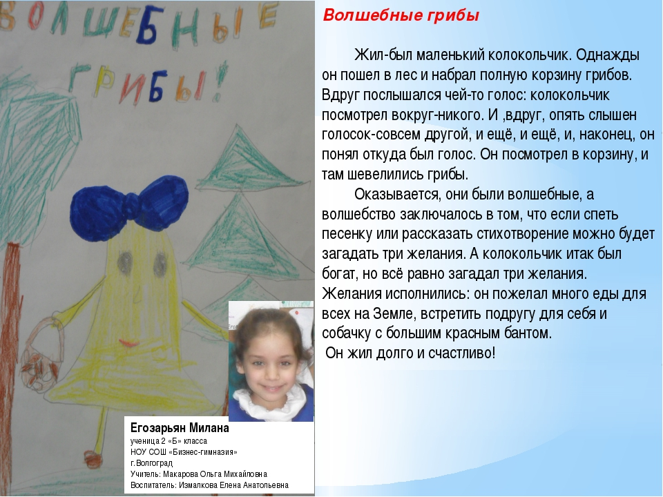 Егозарьян Милана ученица 2 «Б» класса НОУ СОШ «Бизнес-гимназия» г.Волгоград У...
