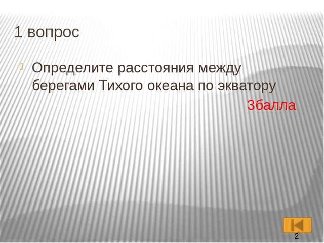 2 вопрос Самый большой остров в России 2 балла Самый большой остров в России