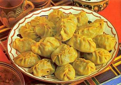 Kazakhstan food - Manti