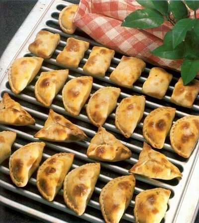 Kazakhstan food - Samsa