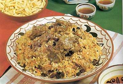 Kazakhstan food - Palau
