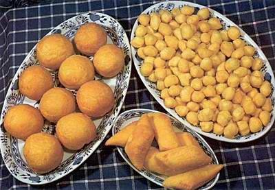 Kazakhstan food - Baursaki