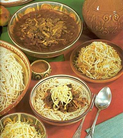 Kazakhstan food - Lagman