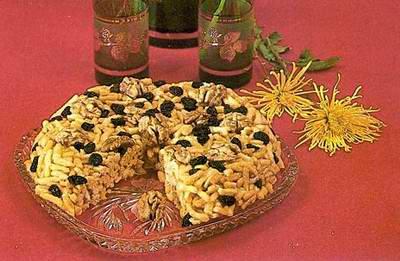 Kazakhstan food - Chak-Chak