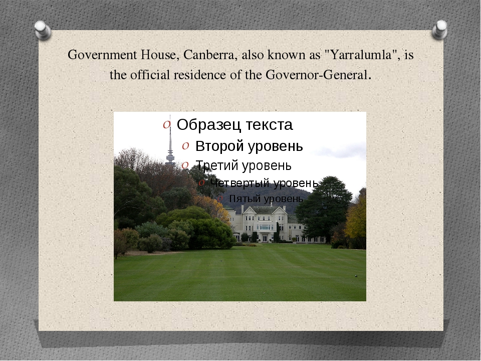 "Government House, Canberra, also known as ""Yarralumla"", is the official resid..."