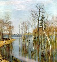 Левитан Весна. Большая вода