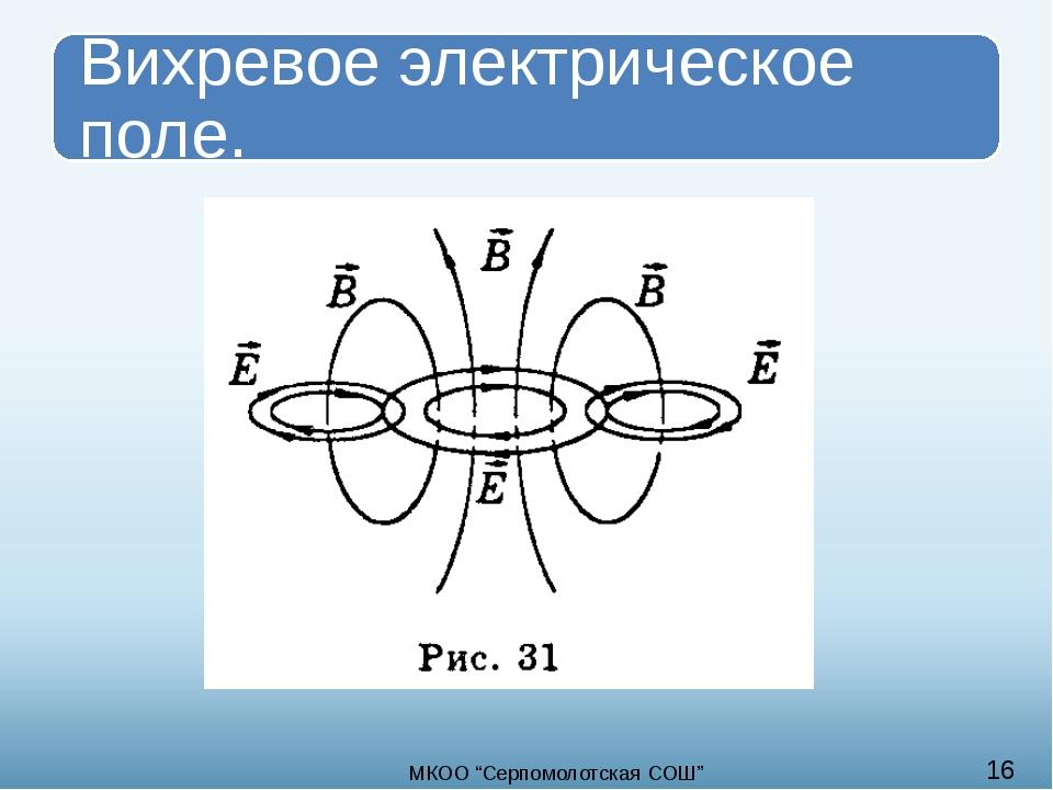 """16 МКОО """"Cерпомолотская СОШ"""""""