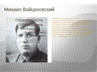 Михаил Вайцеховский Полковник, командир Воронежского добровольческого коммуни