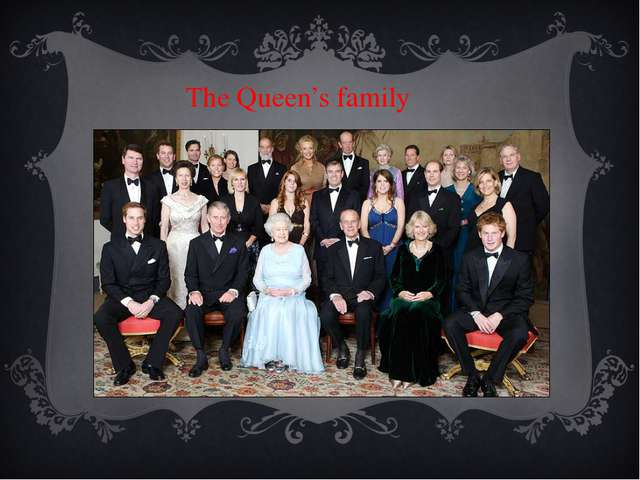 The Queen's family