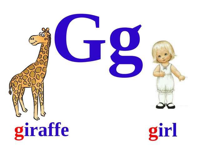 Gg giraffe girl