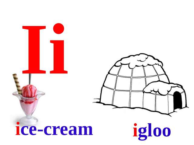 Ii ice-cream igloo
