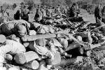 тела евреев лагеря Клоога (эстония)
