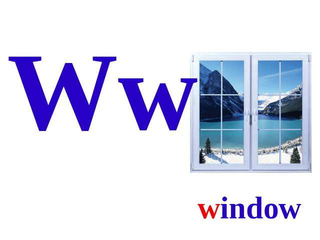Ww window