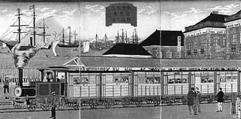 С середины XIX века – модернизация экономики.
