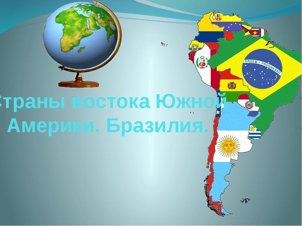 Страны востока Южной Америки. Бразилия.