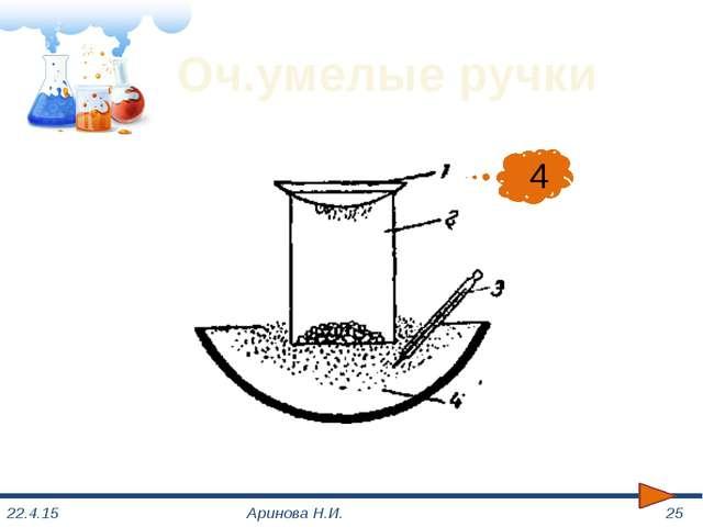 Химическая азбука Аринова Н.И. 1