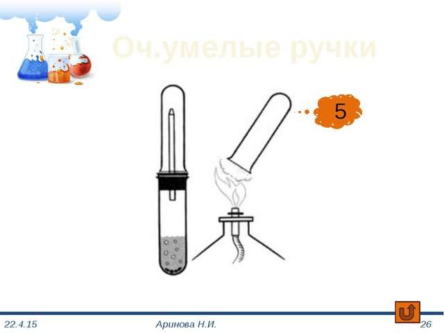 Химическая азбука Аринова Н.И. 2