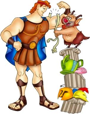 Hercules Cartoon Character