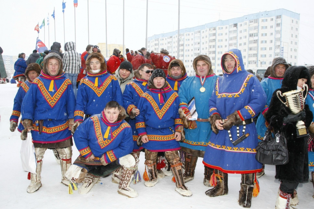 День Оленевода в Надыме - 2013 МПО Газпром Профсоюз